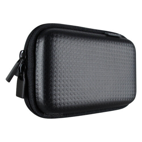 Hama Kameratasche Hardcase Carbon Style 60H schwarz