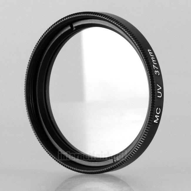 MC UV Filter 37mm, schwarz