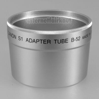 Adapter Tubus für Canon Powershot S1IS