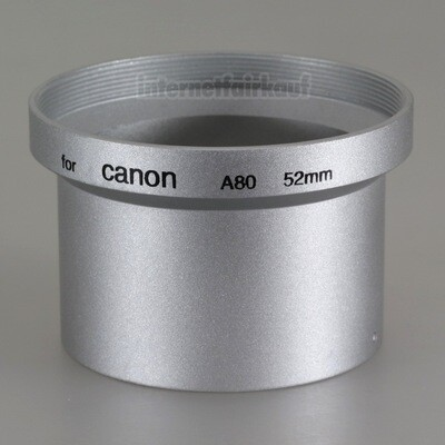 Adapter Tubus für Canon Powershot A80 A95