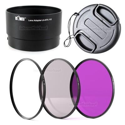 5-teiliges Zubehörset passend für Nikon Coolpix L110
