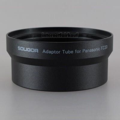 Adapter Tubus für Panasonic FZ20 FZ15 FZ10, 52mm