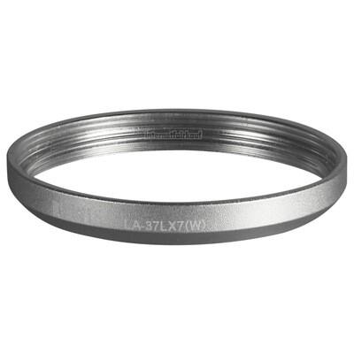 Kiwifotos LA-37LX7(W) - Filter-Adapter für Panasonic LX7, silber