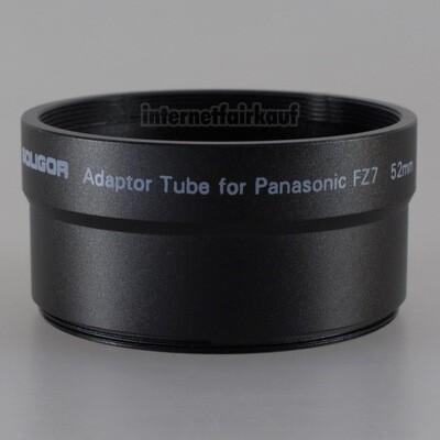 Adapter Tubus für Panasonic FZ7 FZ8