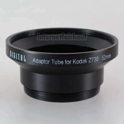 Adapter Tubus für Kodak DX6340 DX6440 DX7440 Z730
