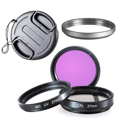 5-teiliges Zubehörset passend für Leica D-Lux 6 + Panasonic LX7