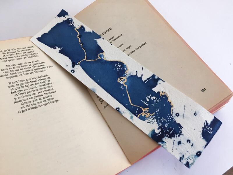 Original art bookmark