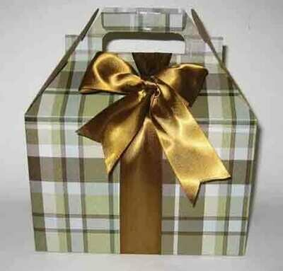 Cookie Gift Box - Kensington Plaid