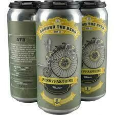 Around The Bend Penny Farthing 4pk