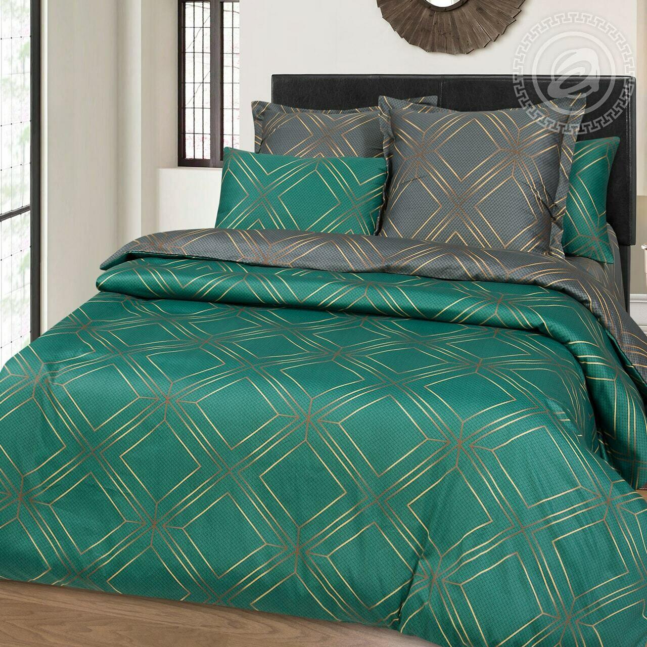 Комплект постельного белья из сатина Шарль