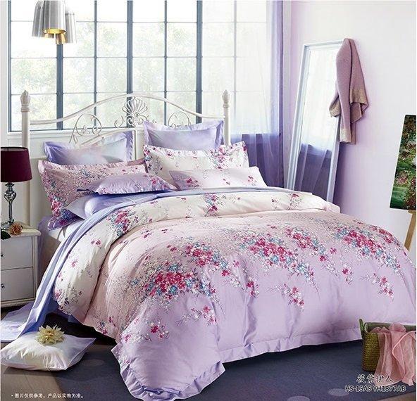 Комплект постельного белья из сатина Нежность