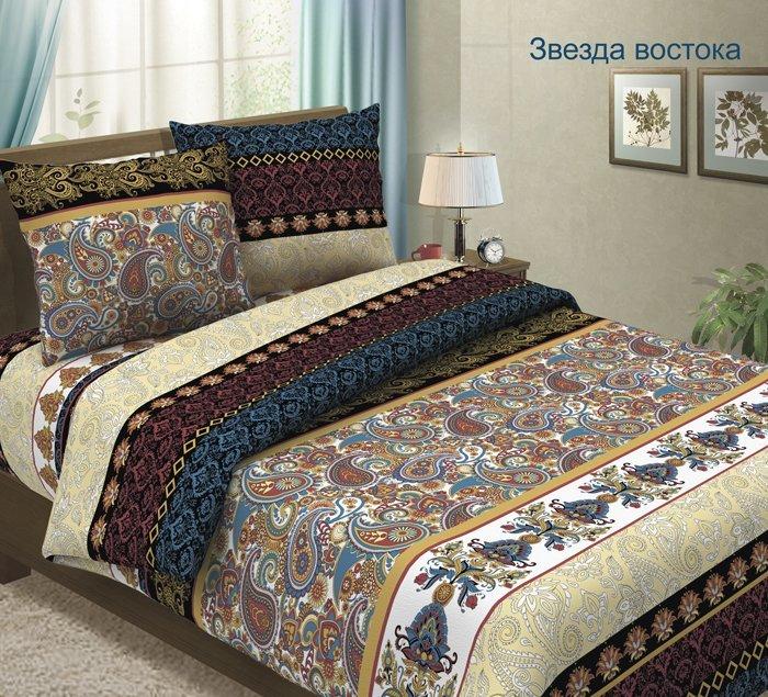 Комплект постельного белья из бязи Звезда востока