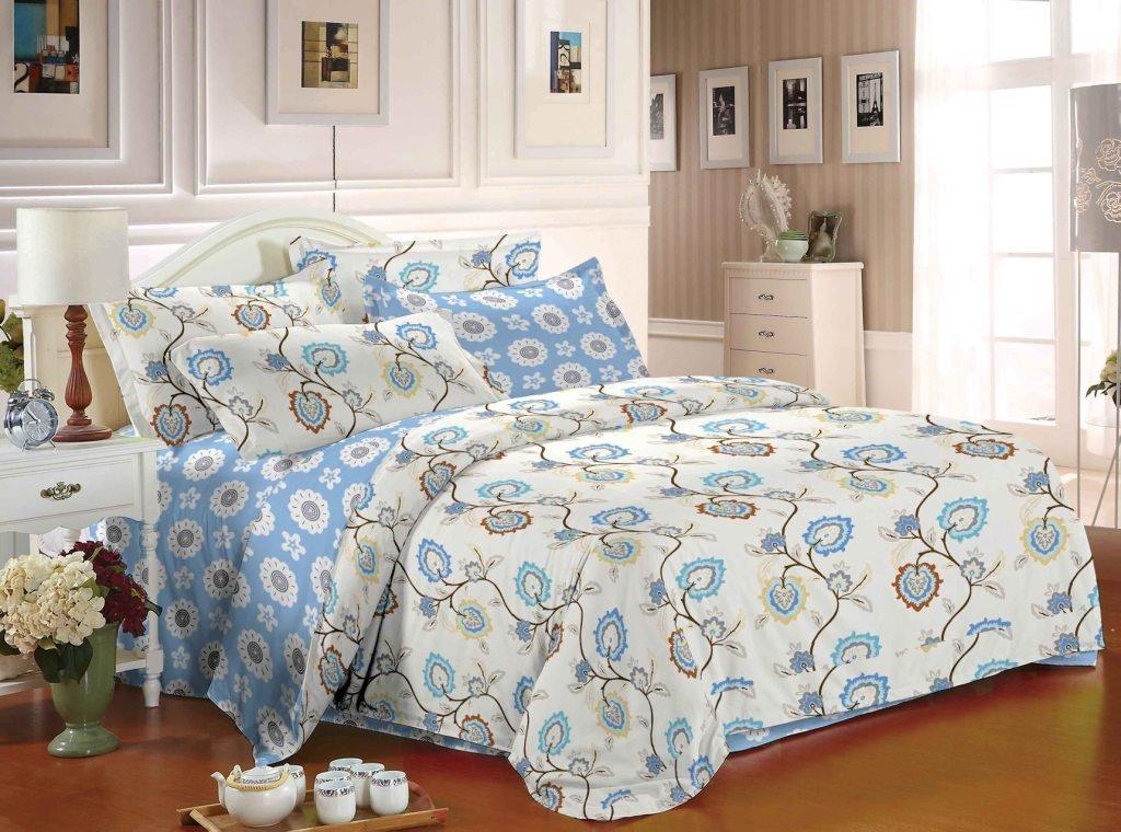 Комплект постельного белья из сатина Весна