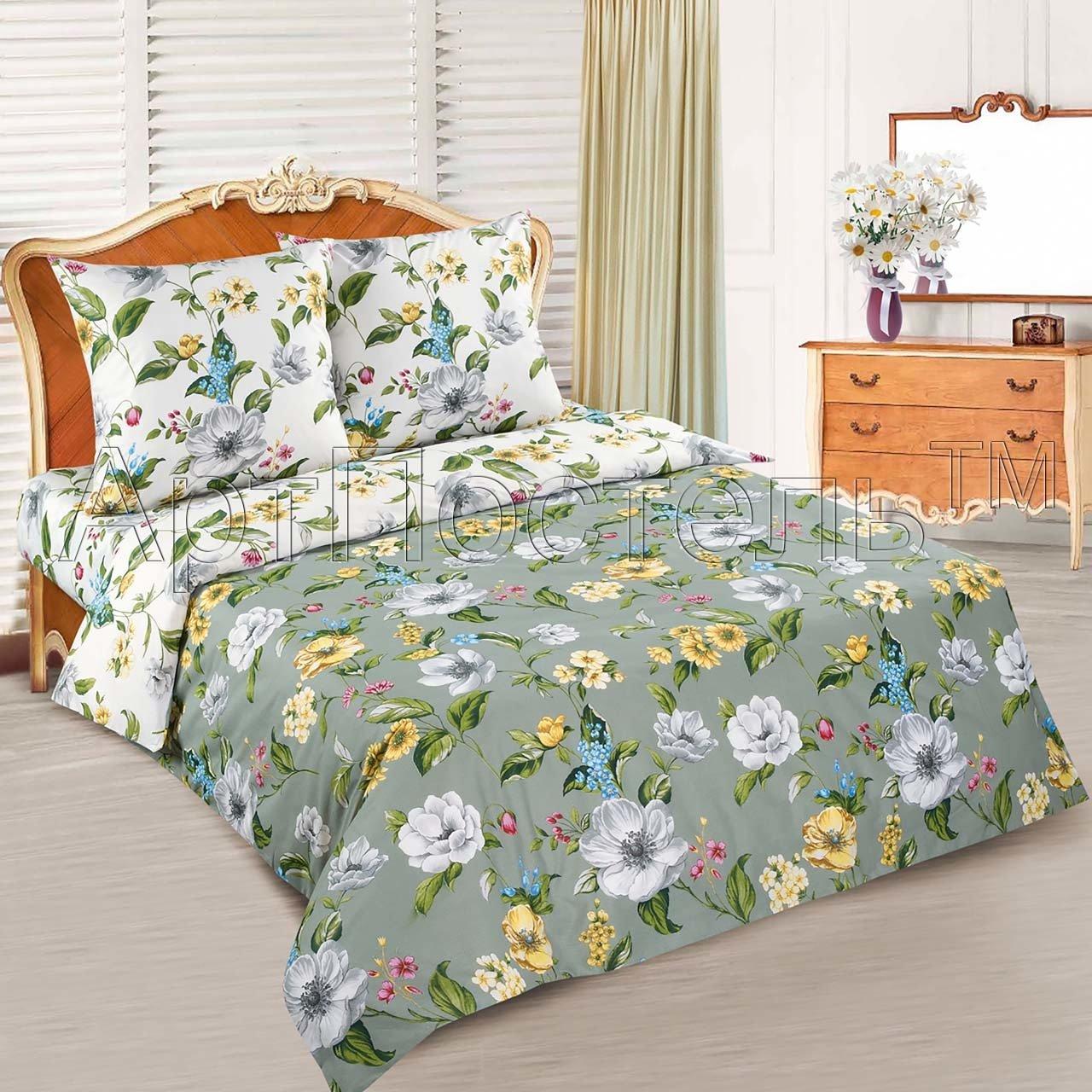 Комплект постельного белья из поплина Жаклин