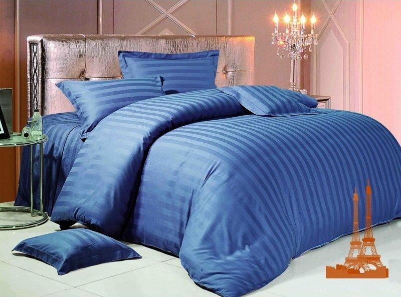 Комплект постельного белья из сатина Василёк