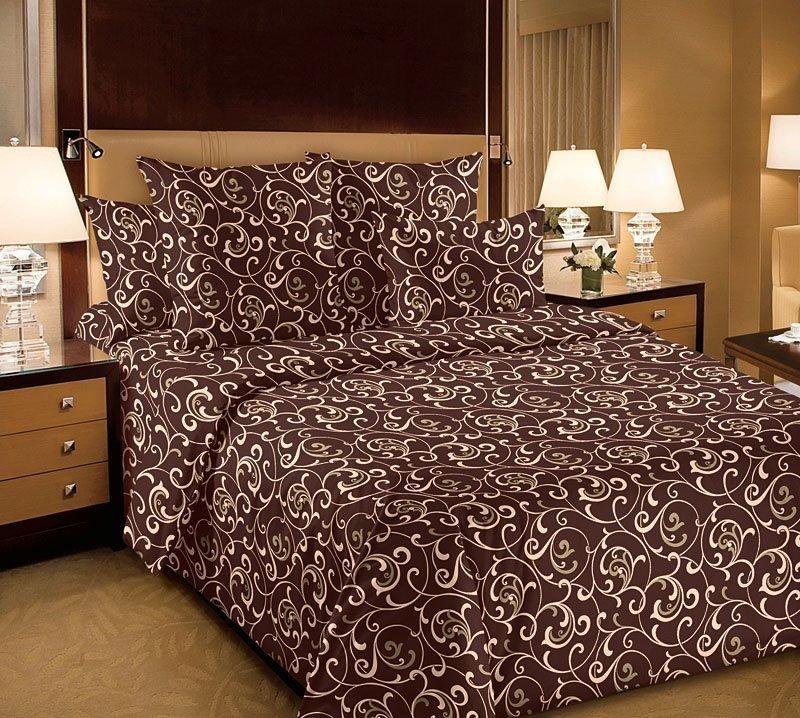 Комплект постельного белья из перкаля Вензель