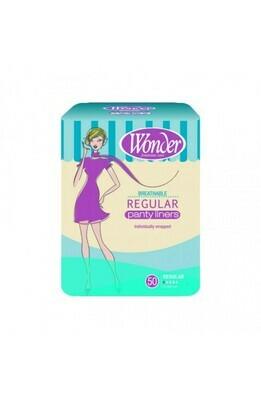 Regular Panty Liners 50pk [$0.06 per liner]
