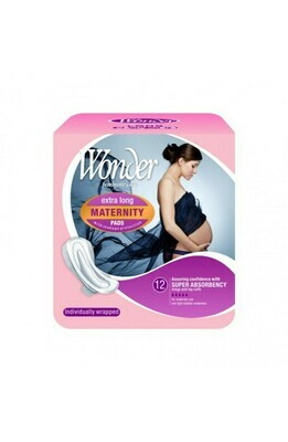 Maternity Pads with wings 12pk [$0.37 per pad]