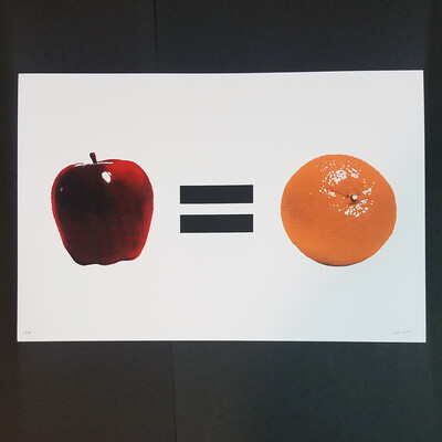 APPLES = ORANGES poster