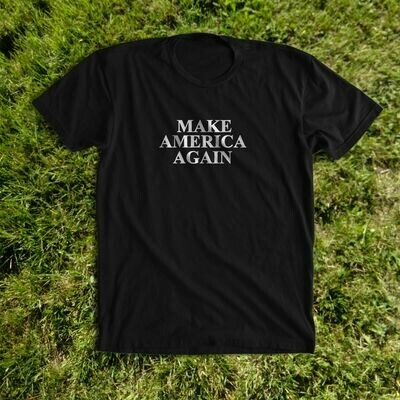 MAKE AMERICA AGAIN black tee