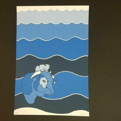 DEEP BLUE BREAKFAST poster