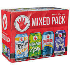 Left Hand mixed 12 pack cans
