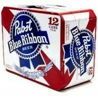 Pabst Blue Ribbon 12 pak cans