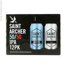 Saint Archer IPA 12pack 50/50 IPA & Hazy