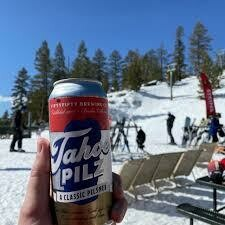 Fifty Fifty Brewing Tahoe Pilz