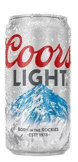 Coors Light Tall Boy
