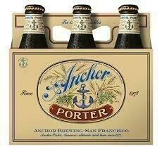 Anchor Porter 6 pack Bottle