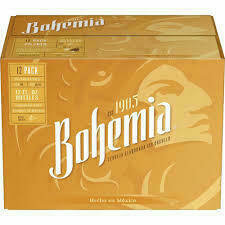 Bohemia 12 packs