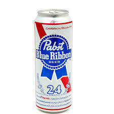 Pabst 24 oz Can