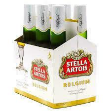 Stella Artois 6 Pack Bottles