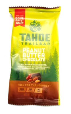Tahoe Trail Bar Peanut Butter Chocolate