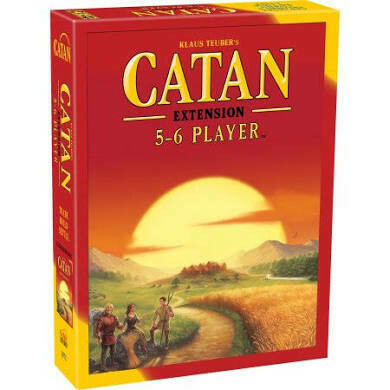 Catan Extension 5-6 Player Expansion