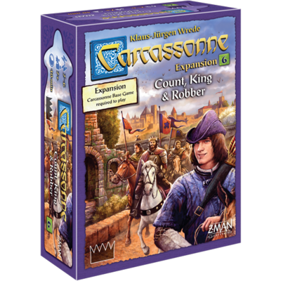 Carcassonne Count King & Robber Expansion