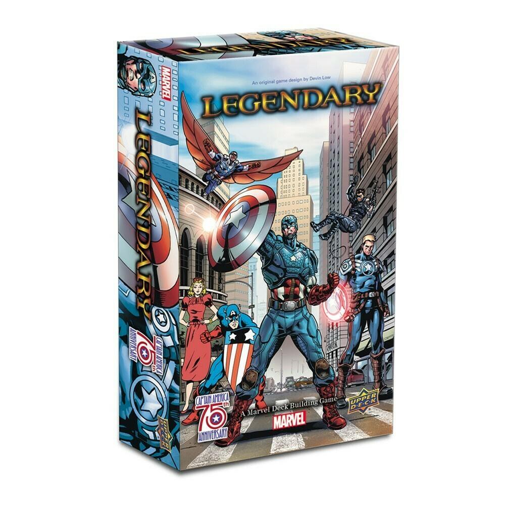 Legendary Marvel Captain America 75th Expansion