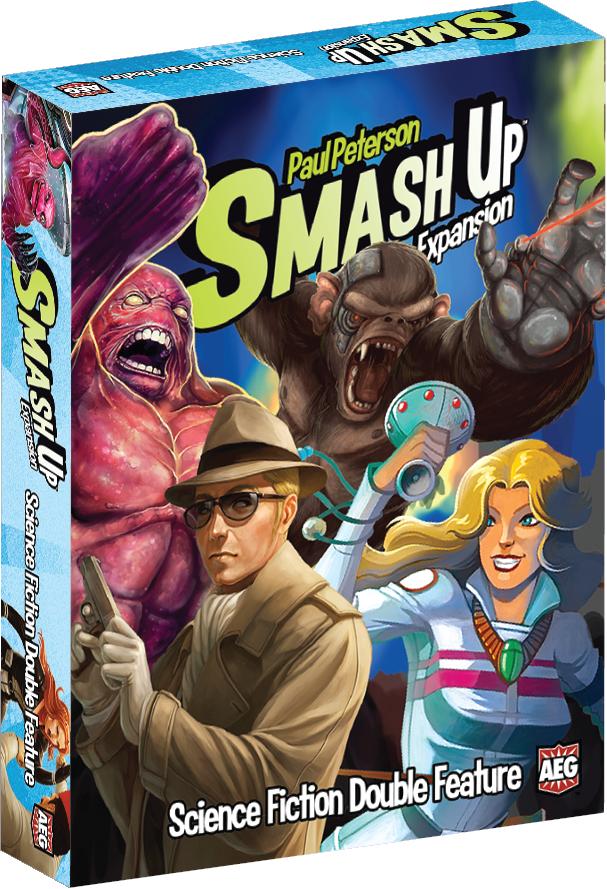 Smash Up Expansion Science Fiction