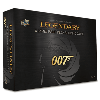 Legendary 007 A James Bond Deck Building Game