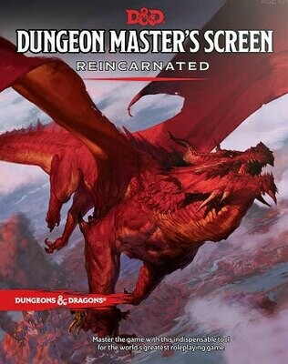 D&D Dungeon Masters Screen Reincarnated