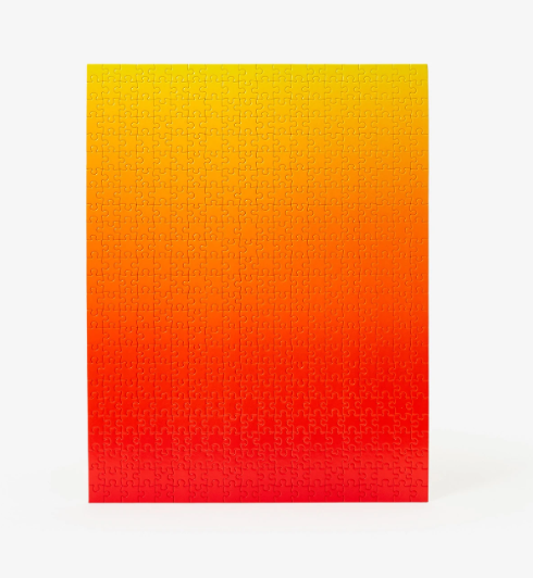 Gradient Puzzle Original Collection - Red/Yellow