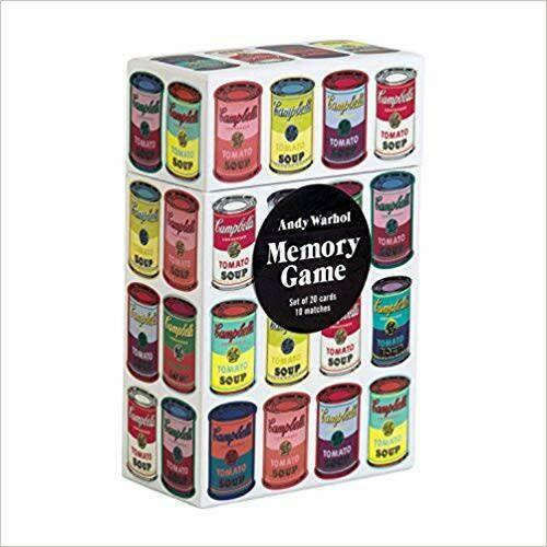 Game Memory Andy Warhol