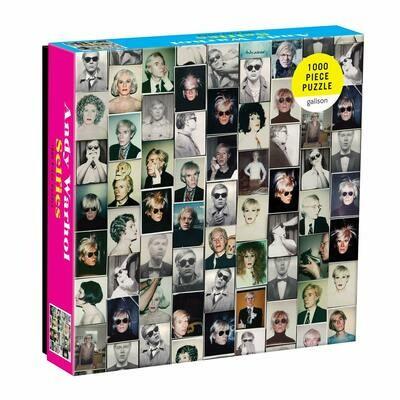 Andy Warhol Selfies