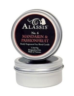 Travel Tin Candle Mandarin & Passionfruit