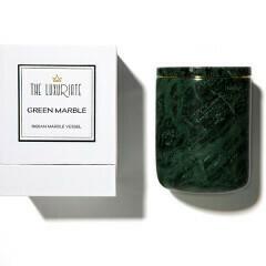 Luxuriate Green Marble Vessel