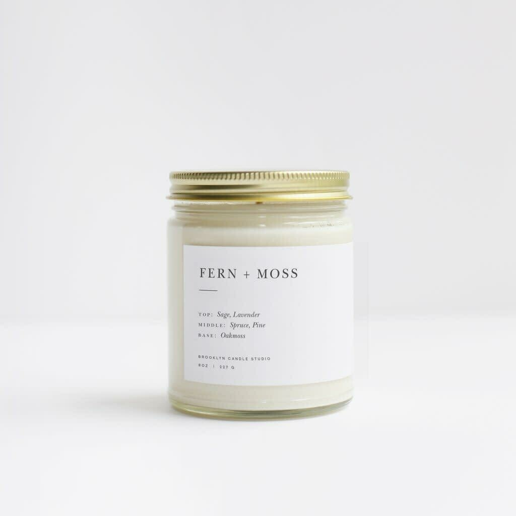 Brooklyn Candle Fern & Moss Minimalist Candle