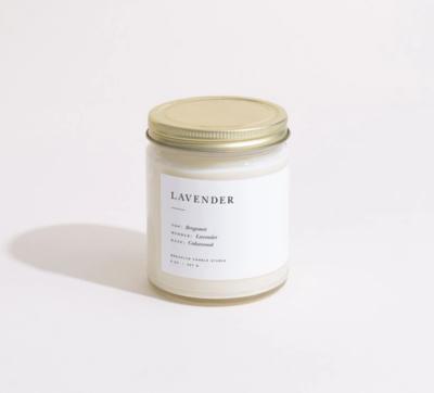 Brooklyn Candle Lavendar Minimalist Candle