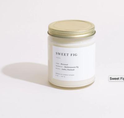 Brooklyn Candle Sweet Fig Minimalist Candle