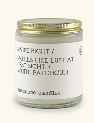 Swipe Right Candle